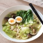 Recipe for easy weeknight ramen and udon noodle soup