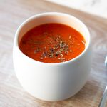 Recipe for red pepper and tomato soup