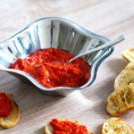 Recipe for red pepper dip