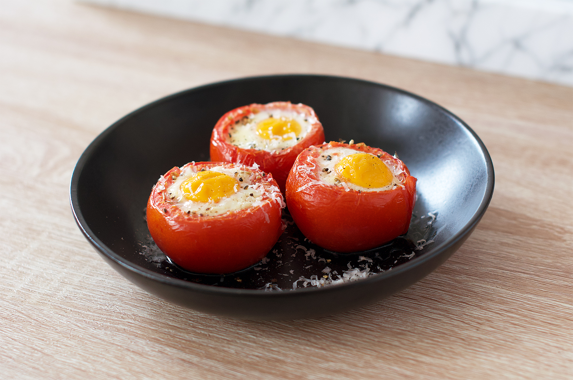 Oven-baked Tomato Eggs Recipe