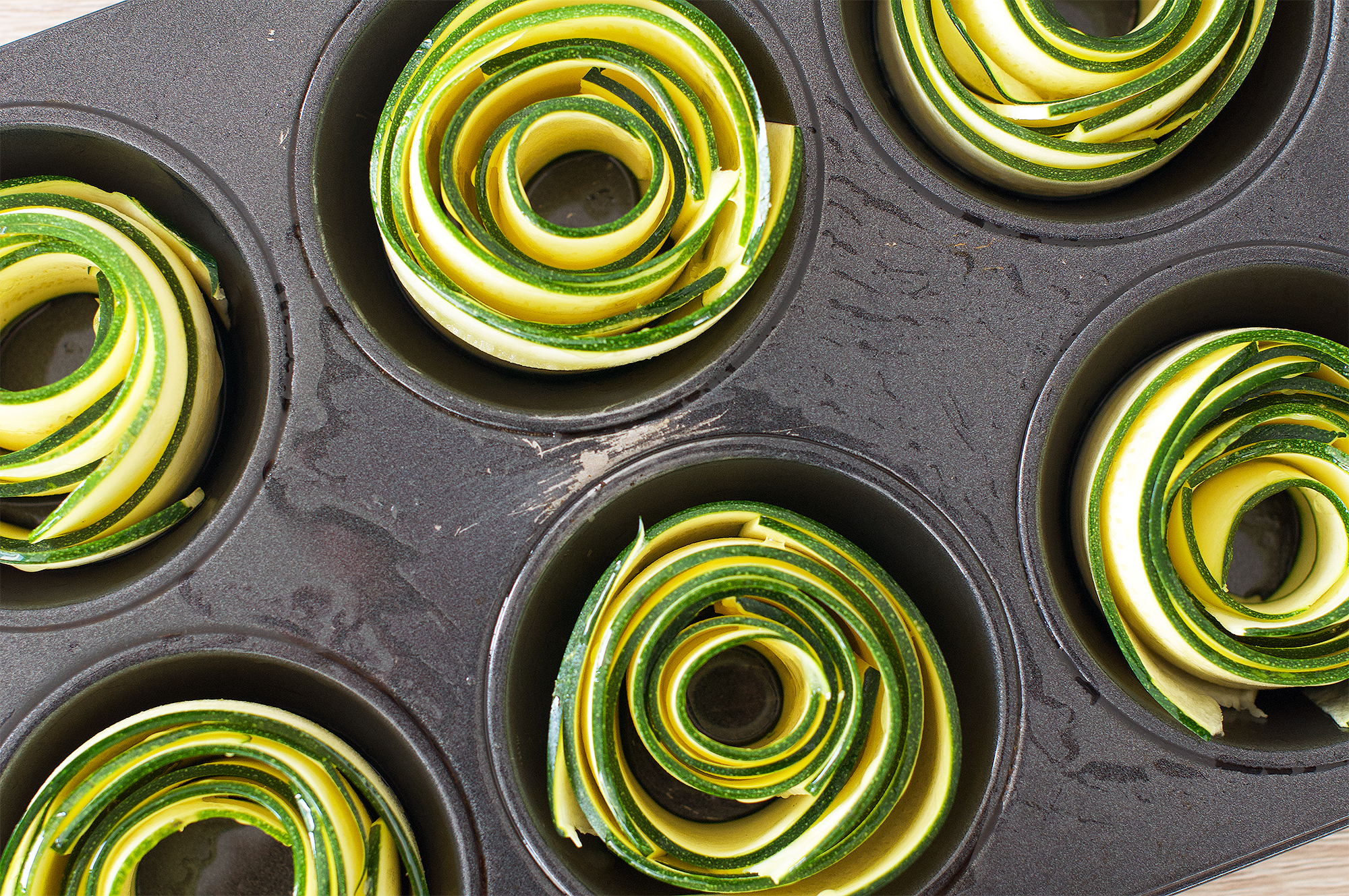 Zucchini Courgette Roses Recipe