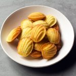 Recipe for homemade French madeleines